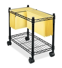 FEL45081 - Mobile File Cart for Letter/Legal Hanging Files