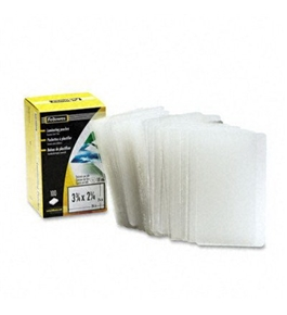 FEL52058 - Business Card Size Laminating Pouches 2-1/4 x 3-3/4