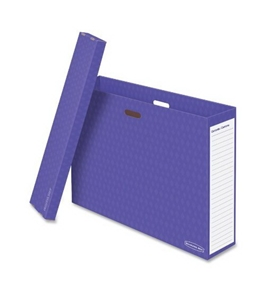 Fellowes 3380001 - Bb Chart Box Purple