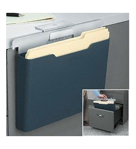 Fellowes 7526201 Fellowes Desk Additions Desk Edge File, 12 1/4 x 3 1/2 x 8 1/4