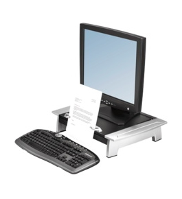 Fellowes 80366 Office Suites Standard Monitor Riser with Copy Holder