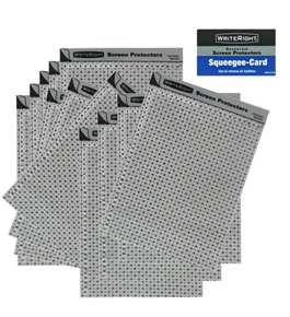 Fellowes 90002 Writeright Universal Screen Protectors, Pack of 12