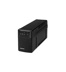 Fellowes 99067 600VA UPS with AVR with 4 Secure Outlets