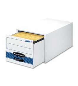Fellowes Bankers Box Stackable Super Stor / Drawer Steel Plus Filing Storage - Moderate Use