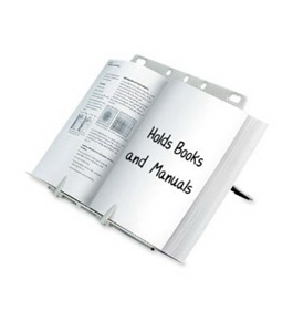 Fellowes Booklift Copyholder, Platinum (21100)