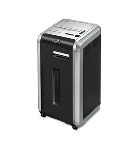 Fellowes : C-220i 100% Jam Proof Strip-Cut Shredder, Black/Silver -:- Sold as 2 Packs of - 1 - / - Total of 2 Each