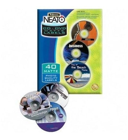 Fellowes CRC99942 NEATO CD Labels (Matte, 40-Count)
