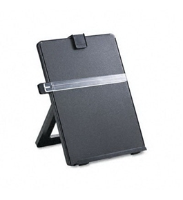 "Fellowes Desktop Copyholder, Nonmagnetic, 10-1/8""X7-3/8""X11-1/4"", Black"