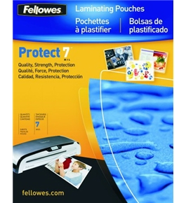 Fellowes Hot Laminating Pouches, Legal, 7 mil, 100 Pack (52046)