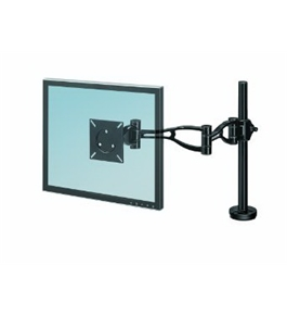 "Fellowes Inc Depth Adjust Monitor Arm, 21""X24""X4-3/8"", Black [Electronics]"