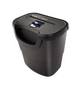 "Fellowes Inc Shredder,Confetti Cut,6 Sht. Cap.,14-1/4""x9-1/2""x14-3/4"",BK -- Sold as 2 Packs of - 1 - / - Total of 2 Each"