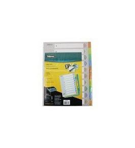Fellowes Index Tabs - 10-TAB (5255801)