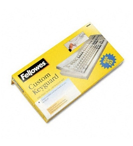 Fellowes Keyboard Protection Kit, Custom Order, Polyurethane - Sold as 2 Packs of 1