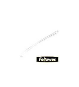 Fellowes Laminating Pouch Accessories, Luggage Tag Loops, Clear, 100 Pack (52061)