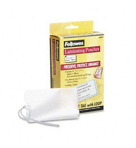 Fellowes Laminating Pouches, 5mm, 4-1/4 x 2-1/2, 50/pack - Sold as 2 Packs