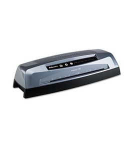 "Fellowes Laminator, 12-1/2"" Entry, Up To 7 Mil Pouches, 22-1/2""X7""X5"", Gy"