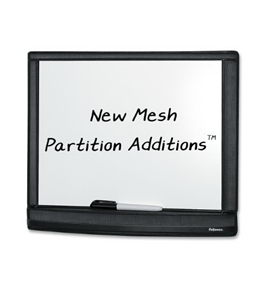 Fellowes Mesh Partition Additions Dry Erase Board (7703101)