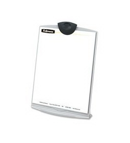 "Fellowes Mfg. Co. Products - Copystand, Holds 75 Sh, 9""x6-3/8""x12-1/4"", Platinum/Graphite - Sold as 1"