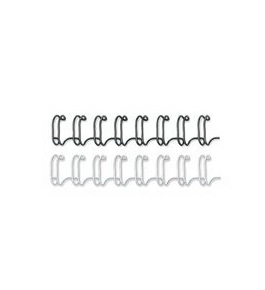 "Fellowes Mfg. Co. Products - Double-loop Wire-binding Combs, 3/8"", 25/BX, Black - Sold as 1 PK"