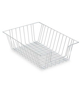 "Fellowes Mfg. Co. Products - Wire Desk Tray, Legal Size, 12""x16-1/2""x5"", Silver - Sold as 1 EA"
