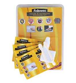 Fellowes Mouse and Kyeboard Cleaning Kit - Cleaning Wipe [CD] [Electronics]
