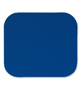 "Fellowes Mouse Pad, 8""X9-1/4""X1/8"", Blue"