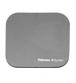 Fellowes Mouse Pad with Microban Antimicrobial Protection, Graphite (5934001)