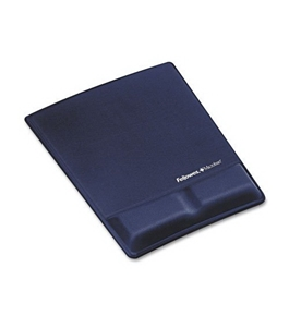 Fellowes Mouse Pad / Wrist support with Microban Protection - 9183901