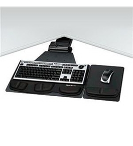 Fellowes NEW Keyboard Tray Graphite (Input Devices)