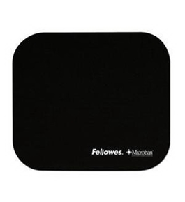 Fellowes NEW Microban Mousepad Black (Input Devices)