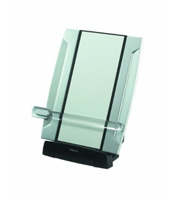 Fellowes Office Suites Desktop Copyholder With Memo Board, Black/Silver (8033201)