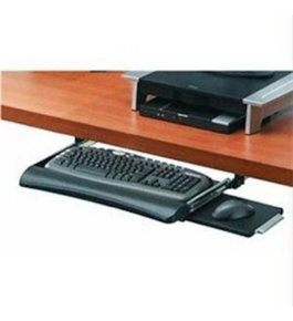 Fellowes Office Suites Underdesk Keyboard Drawer, Black (91403)