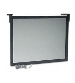 Fellowes : Privacy Glare Filter for 19-21 CRT/LCD, Antirad./Static/Glare, Bla...