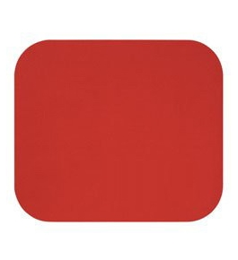Fellowes Red Mouse Pad with Office Depot Logo - 5937101 Miscellaneous