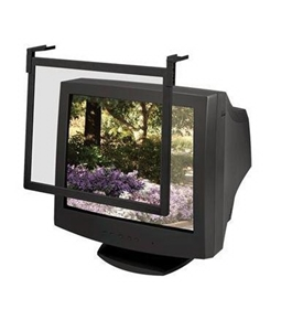"Fellowes Standard Glare Filter Anti-glare Screen - 16"" to 17"" CRT, 17"" LCD"