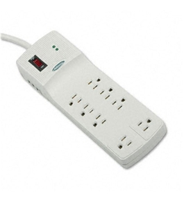 Fellowes Superior 8-Outlet Surge Suppressor - Receptacles: 8 - 1840J