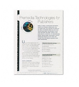 Fellowes Thermal Binding System Covers, 9 3/4 x 11 1/8, Clear/White, 10 per Pack - Sold as 2 Packs