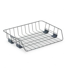 Fellowes Workstation Side Load Tray - Steel, Rubber