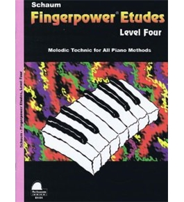Fingerpower Etudes: Level Four [Paperback]