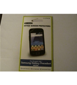 Fitted Screen Protectors 3-pack for Samsung Galaxy M828C Phone [Electronics]