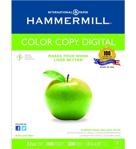 Hammermill Color Copy Digital, 32 , 8-1/2 x 11 Inches, 100 Bright, 500Sheet