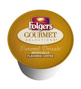 Folgers Gourmet Selections Caramel Drizzle K-Cups 96 count Misc.