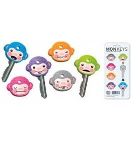 Fred Key Shirts MonKey Identifiers - Set of 6 Monkeys