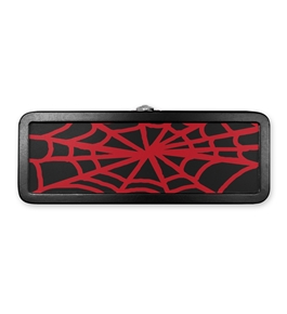 Tin Mini Pencil Box Spider Web - Black- Find It - FT07341