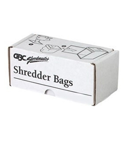 GBC 1765001 - Shredder Bags For ShredMaster Shredders/Stands, 26w x 24d x 48h, 100/BX