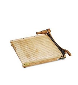 GBC QUARTET ClassicCut Ingento 15-Sheet Paper Trimmer, Maple Base, 18 x 18 (Case of 2)