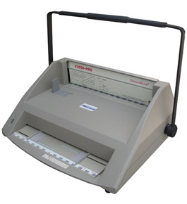 GBC Tamerica V2000-PRO Hot Knife Velobind Style Binding Machine