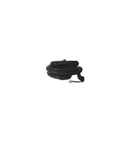 GE TL26139 25' Coil Phone Cord (Black)