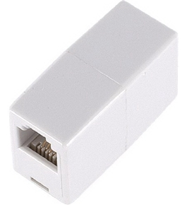 GE TL26190 Telephone In-Line Coupler (White)