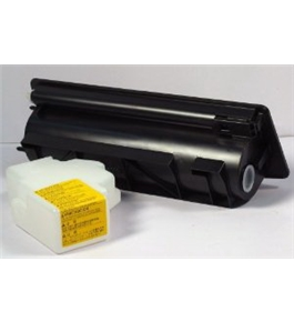 Genuine NEW Kyocera Mita 37029011 Black Toner Cartridge and Waste Bottle
